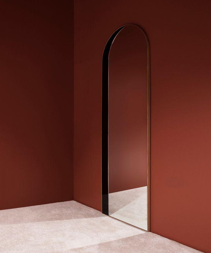 Slim Archway Mirror by Bower