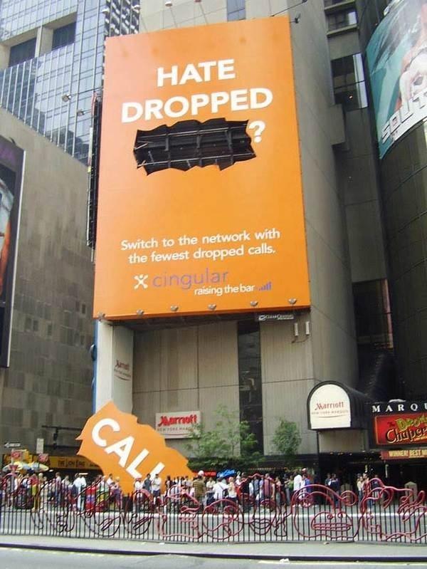 drooped call #advertising #billboard #ooh