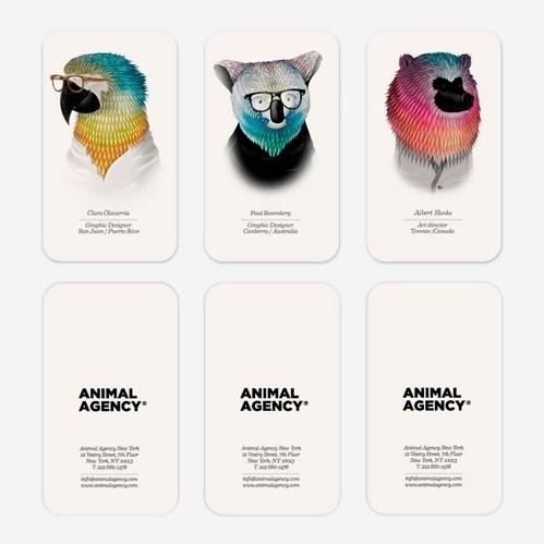 tumblr_lnggbkg9Uh1qz6f9yo1_500.jpg (499×499) #namecards #agency #animal