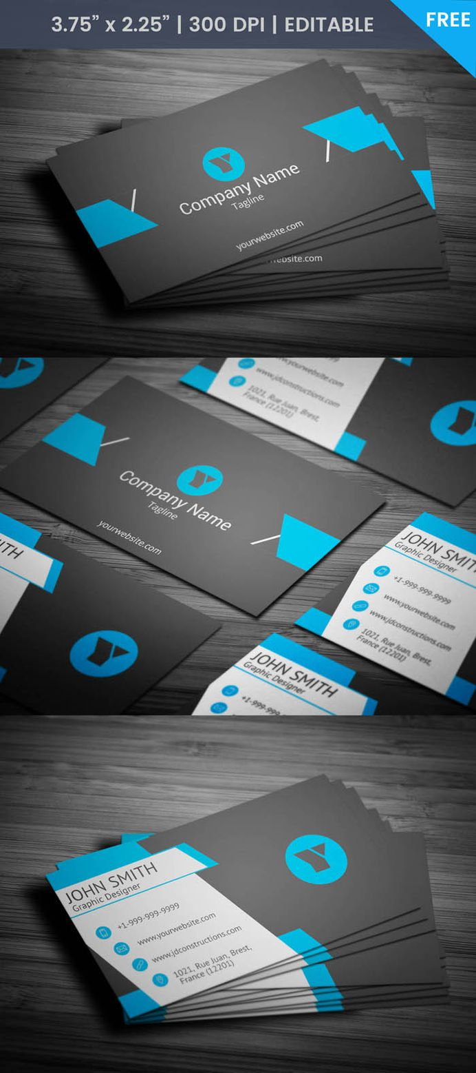 Free Nautical Business Card Template