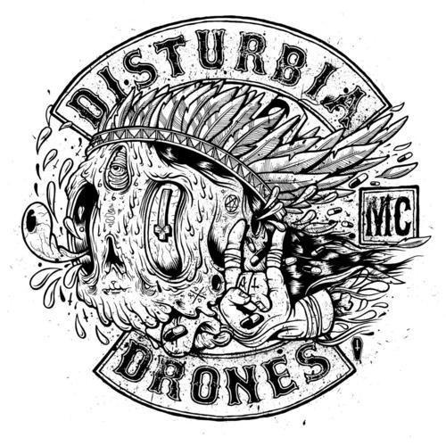 supersonic electronic / art - Drew Millward. #bikes #patch #disturbia #biker #motorcycle #club