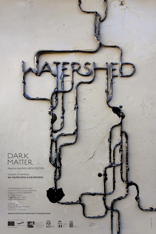 WATERSHED by Pamela Campagna #design #graphic #poster #typography