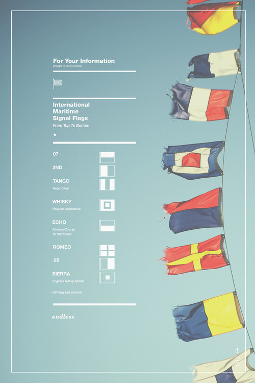 The work of Ben Biondo #naval #flags