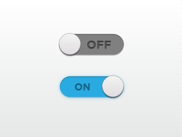 User Interface Set on the Behance Network #user #switch #interface #off