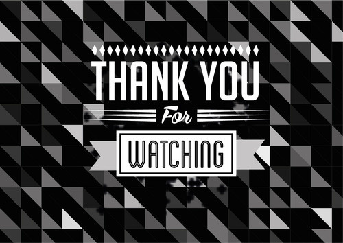 Thank you for watching in My Collection