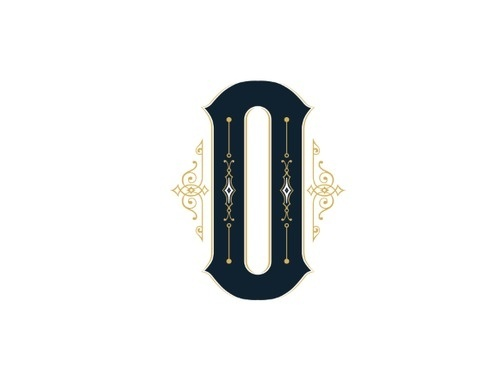 O by James Word #letter #lettering #typography