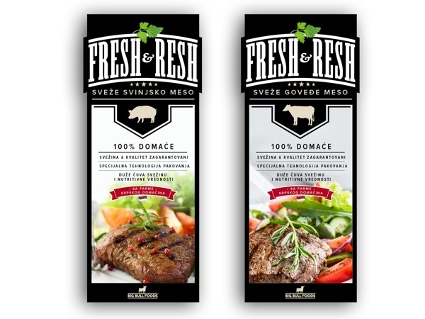 Big Bull Foods | Meat Packaging design proposals on Behance #packaging #meat