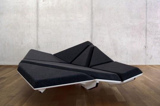 Cay Sofa In Defringe.com #sofa #chair #cay #defringe #design