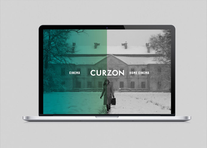 The Plant #branding #design #curzon #cinema #identity #gradient #logo #layout #colour #editorial