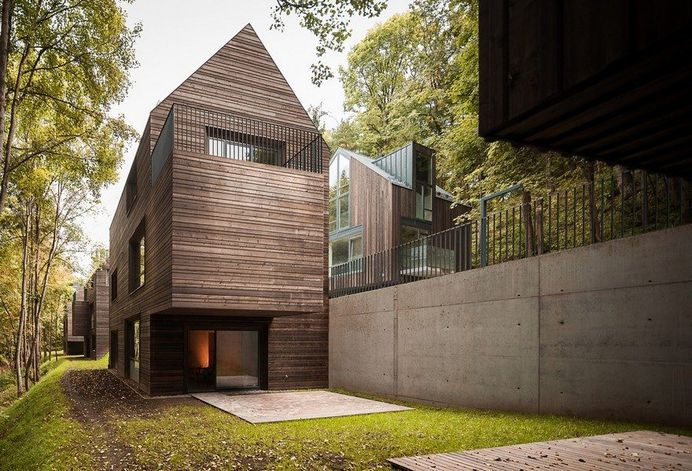 Monochromatic House in Vilnius: The Greywall
