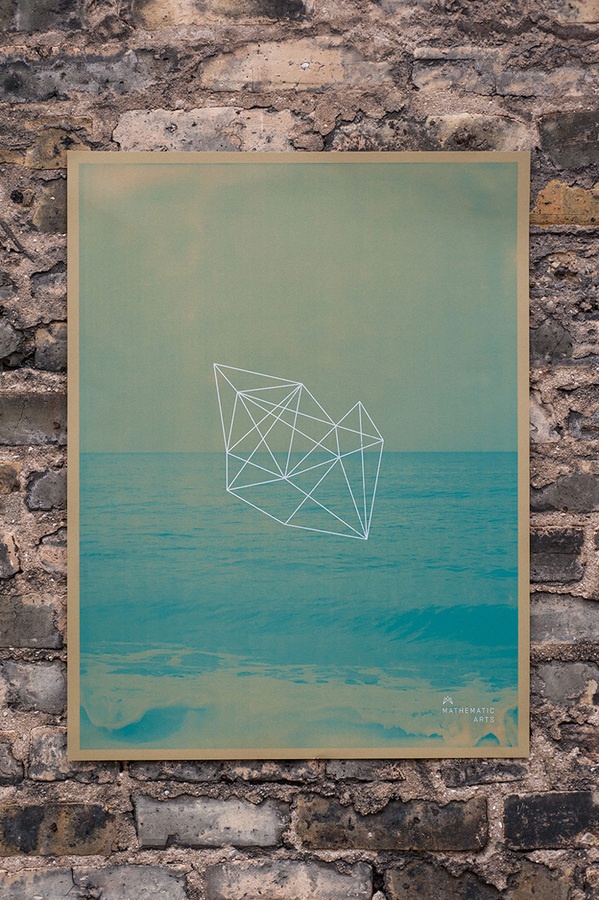 Mathematic Arts poster #line #geometry #minimal #poster