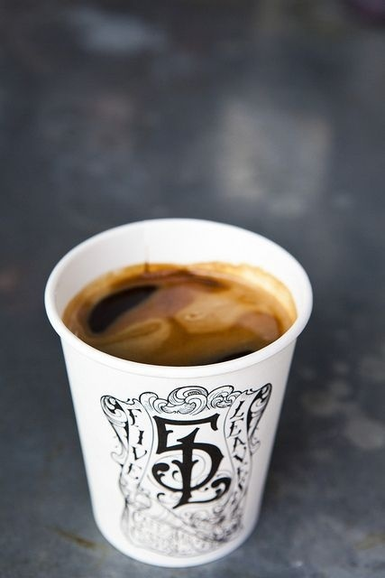 More Coffee! Fine leaves from Nicole Franzen #coffee #photography