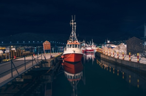 Norway Trip Photograps by Fabio Tridenti #norway #landscape #night #ship #winter