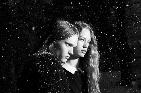 Noir | Therese + Joel #photography #noir