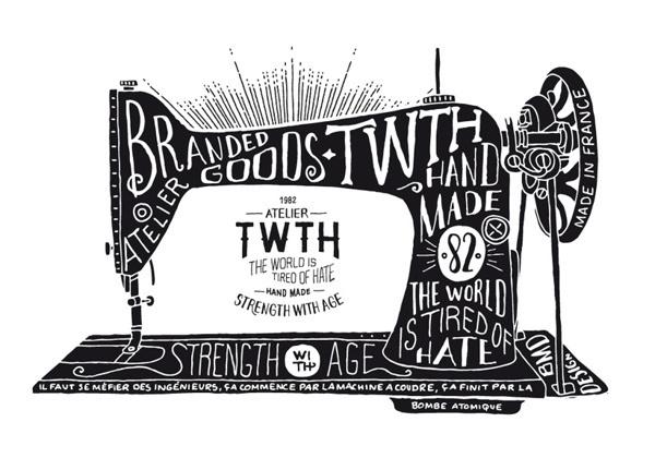 TWTH Atelier on Behance #old #retro #illustration #type #typography