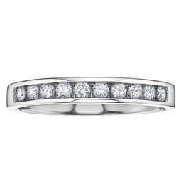 Be it your fiftieth or first anniversary, you can make this occasion extra special by gifting your loved one with a beautiful diamond anniversary band.