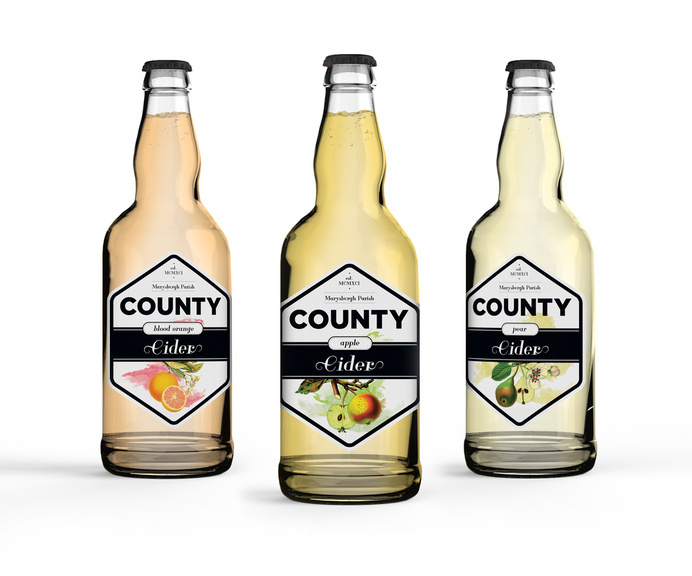 County Cider — The Dieline #packaging #beverage #cider