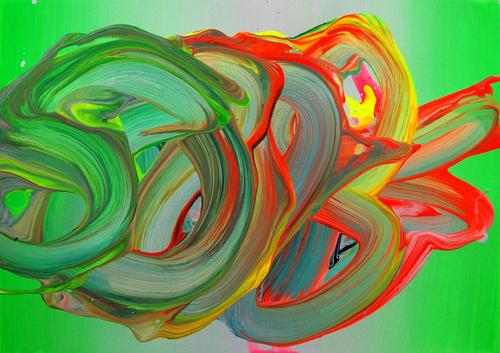 Yago Hortal | PICDIT #brushstrokes #color #vibrant #painting #art #colour