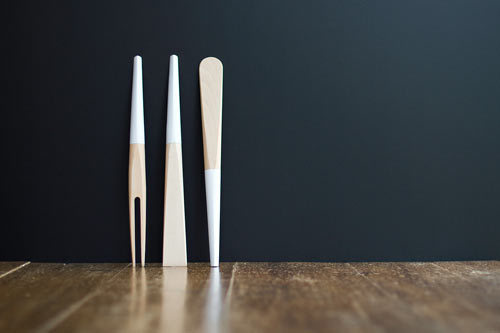 Leis Wood Cooking and Serving Utensils by Gigodesign Photo #wood #kitchen #utensils