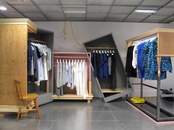 Dover Street Market London #interior #london #design #furniture #fashion #shelf