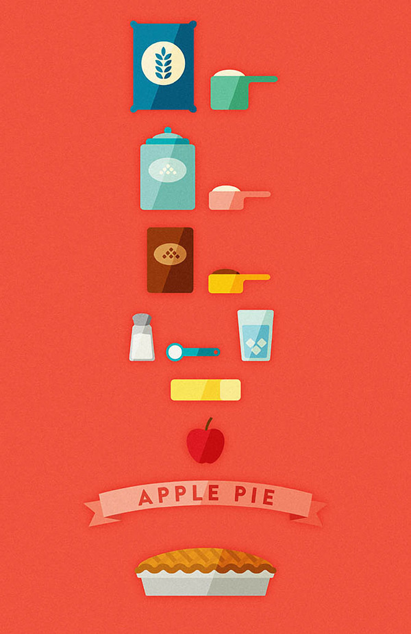 Apple Pie #illustration