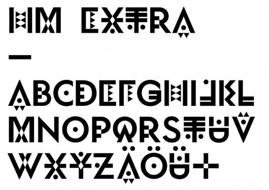 HelloMe — Exzem #font #typeface