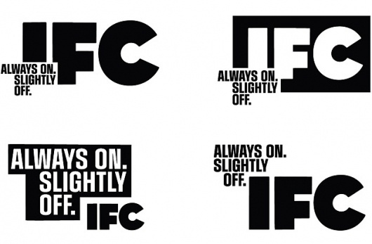 Feel Good Anyway » Work » IFC Main #design #identity #branding #typography