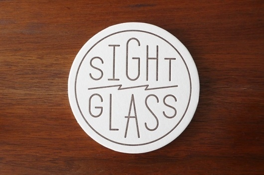 Sightglass Coffee Identity : Kyle Blue, Design & Art Direction #design #de #identity #logo #coaster