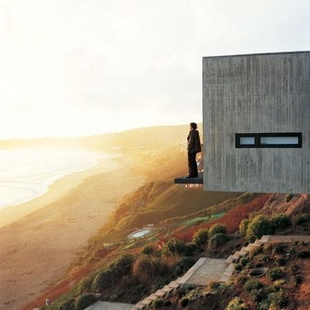 Dezeen » Blog Archive » Casa 11 Mujeres by Mathias Klotz #richard #cliff #architecture