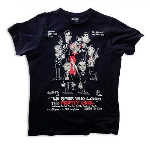 ilustración / dibujo, diseño web y camisetas | OFGMS | olivier fritsch gomez #james #007 #tshirt #bond