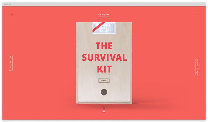 #15Â agency survival kits