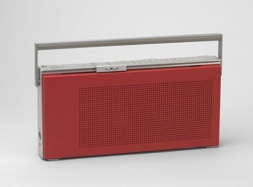 MoMA | The Collection | Jakob Jensen. Beolit 400 Portable Radio. 1971 #product #design #radio