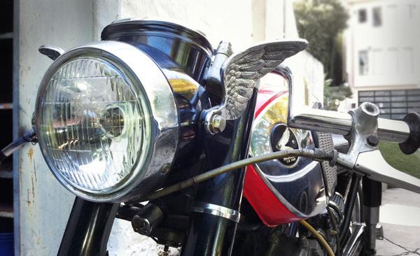 NN CB160 Lamp 2 #wing #honda #motorcycle
