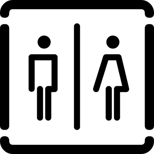 bagno unico by no zone, via Flickr #iconography #icon #sign #icons #symbols #signs