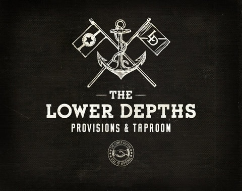 FFFFOUND! | The Lower Depths on the Behance Network #logo #depths #lower #typography