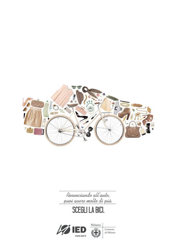 #nurdinova #bicycle #comune #design #graphic #karina #advertising #milano #di #bike #fashion #milan #car #scary #italy