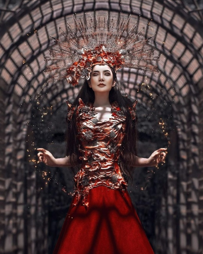 Beauty and Fantasy Fine Art Portraits by Grace Almera