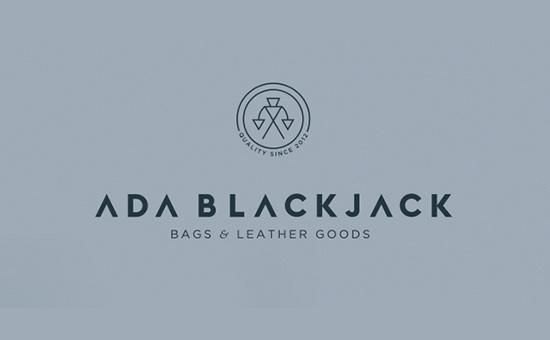 Ada Blackjack Logo Design