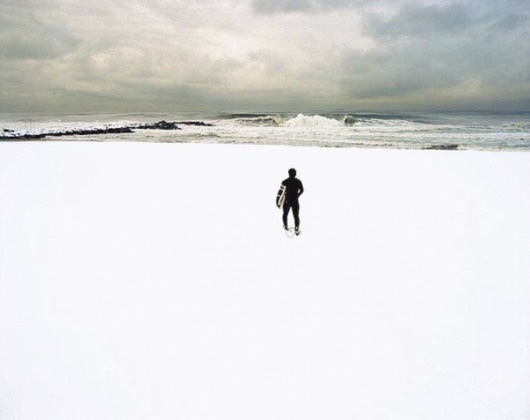 SATURDAYS» Blog Archive » RIGHT COAST: susannah Ray #sea #snow #surf #wave