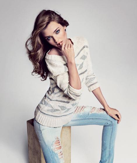 Miranda Kerr by Inez & Vinoodh for Mango #model #girl #campaign #photography #fashion #beauty