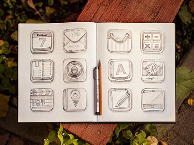 Sketch #icon #design #app #sketch