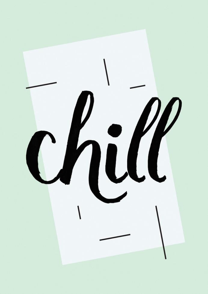 Chill Art Print by Koning | Society6