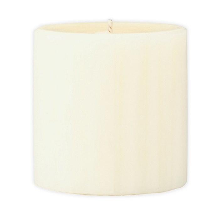 Marbled Pillar Vanilla & Brown Sugar Scented Candle, 7 x 7 cm