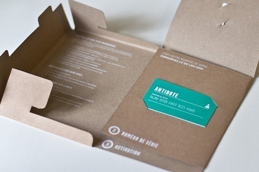 Before and After: AntidoteSoftware - The Dieline: The World's #1 Package Design Website -