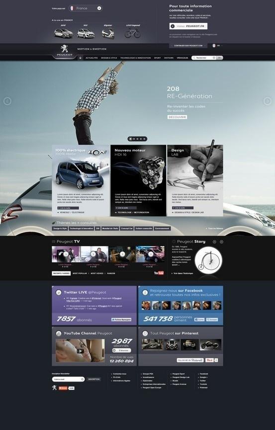 Web design inspiration #design #web