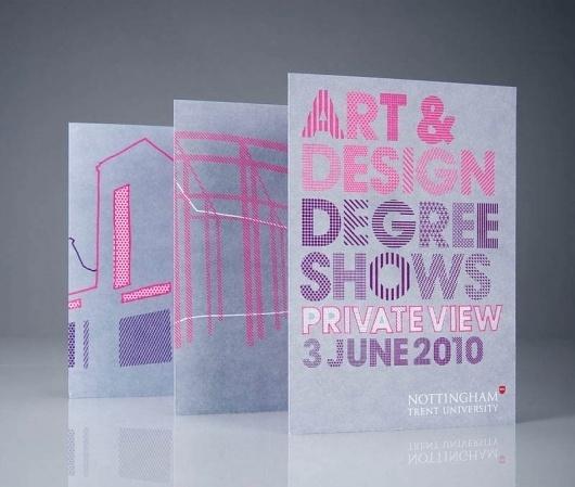 NTU Degree Shows 10 : Andrew Townsend #type #design #geometry #pattern