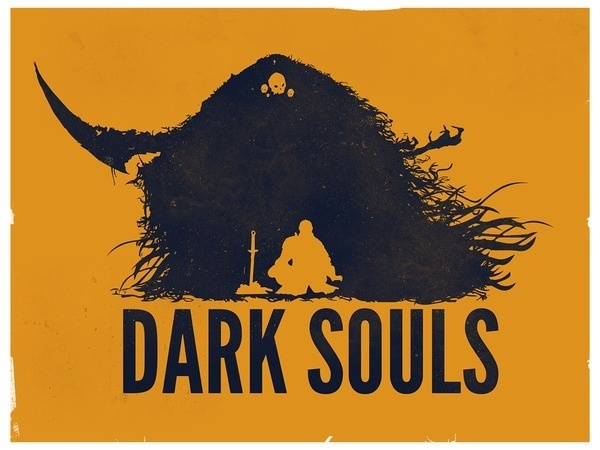 Game Posters on the Behance Network #vector #souls #poster #game #dark #stereodvt