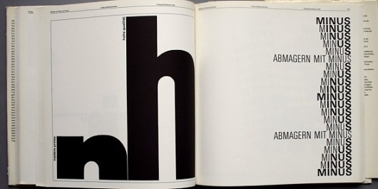 Typography (Emil Ruder, 1967) – designers books #layou #design #book #typography
