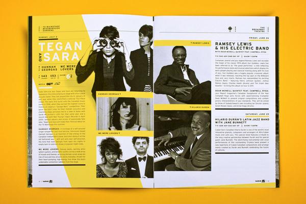 Saskatchewan Jazz Festival 2011 on Behance #magazine