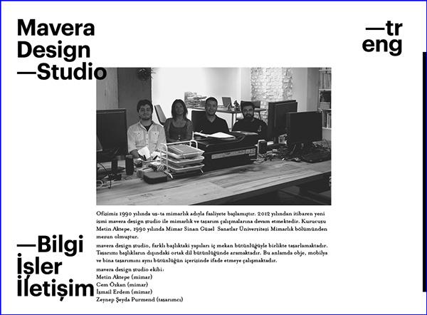 Mavera Design Studio on Behance #web design #layout